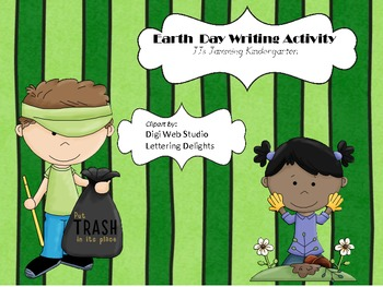 Earth Day Kindergarten Writing Activity