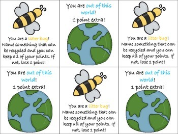 Earth Day Language Activities!