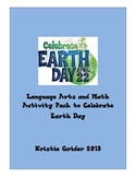 Earth Day Language Arts and Math Activity Packet