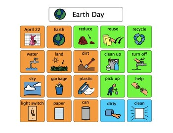 Earth Day Language Boards