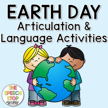 Earth Day Language and Articulation activities
