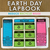 Earth Day Lapbook - Reduce Recycle Reuse