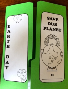 Earth Day Activities: Lapbook and Slideshow