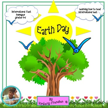 Earth Day: Learning how to read Non-Fiction, Passages & Pr
