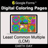Earth Day: Least Common Multiple (LCM) - Google Forms | Di