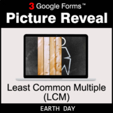 Earth Day: Least Common Multiple (LCM) - Google Forms Math