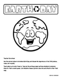 Earth Day Lesson: 2 stories, poster, and acrostic writing prompt
