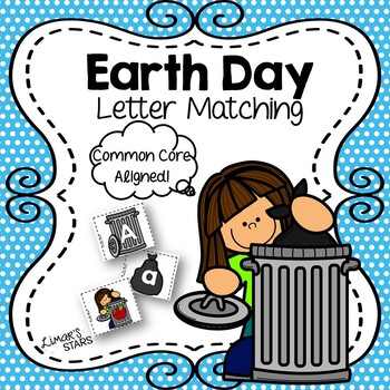 Earth Day Letter Matching