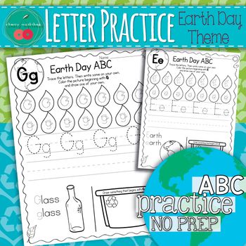 Earth Day Letter Practice