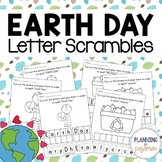 Earth Day Letter Scambles