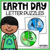 Earth Day Letters and Beginning Sounds Puzzles