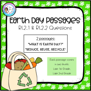 Earth Day - Leveled Passages