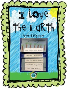 Earth Day Lift-the-Flap Poem FREEBIE