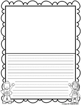 Earth Day Lined Paper