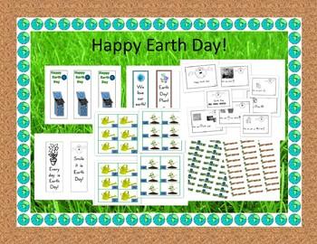 Earth Day Literacy Center Activities/Emergent Reader
