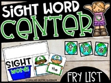 Earth Day Literacy Center - Building Fry Sight Word Center