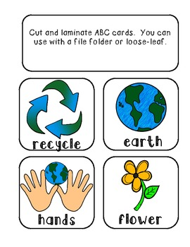 Earth Day Literacy Centers, Printables, & Writing {Common Core Aligned}
