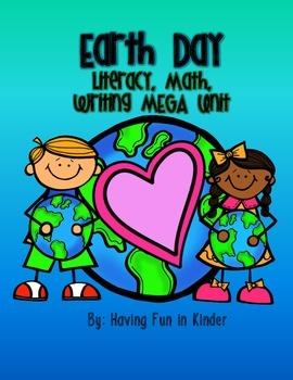 Earth Day Literacy, Math, and Writing MEGA Unit