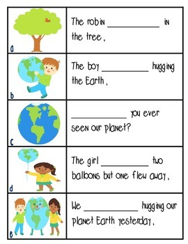 Earth Day Literacy Pack