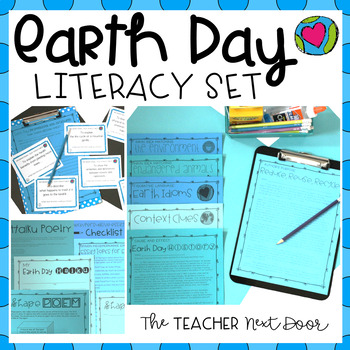 Earth Day Literacy Set Earth Day Activities by The Teacher Next Door