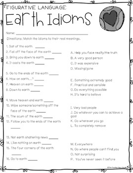 Earth Day Literacy Set | Earth Day Activities