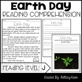 Leveled Text J: Earth Day