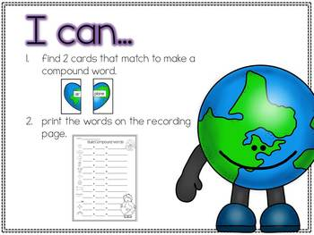 Earth Day Literacy Work Stations