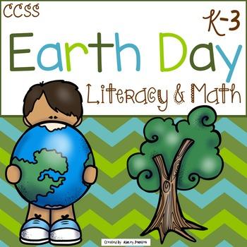 Earth Day Literacy and Math FUN!!!