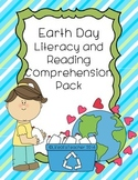 Earth Day Literacy and Reading Comprehension Pack