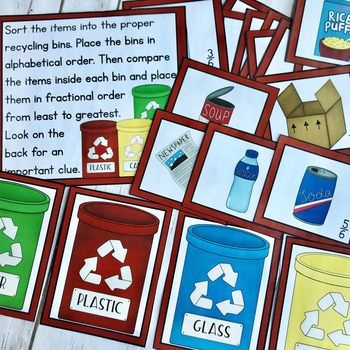ENRICHMENT FOR GIFTED STUDENTS GATE Projects Lockbox Challenge Earth Day
