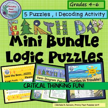 Earth Day Logic Puzzle Mini Bundle