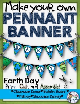 EARTH DAY: MAKE YOUR OWN PENNANT BANNER