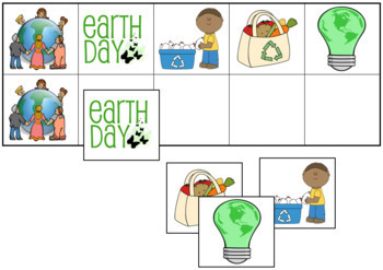 Earth Day Match-Up and Memory
