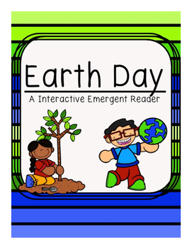 Earth Day Matching Emergent Reader