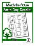 Earth Day Matching - Print, Answer & Color Worksheets - 5 Pages