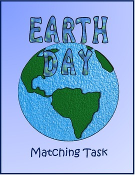 Earth Day Matching Task