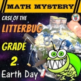 Earth Day Activity: Case of the Litterbug (2nd Grade Earth Day Math Mystery)