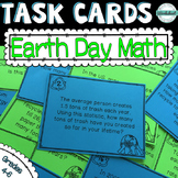 Earth Day Math Task Cards