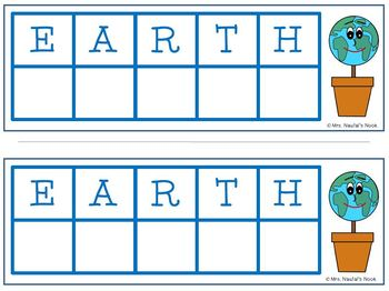 Earth Day Math Games - Basic Operations and Place Value