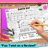 Earth Day Math: Worksheet Activity