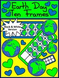 Earth Day Math Activities: Earth Day Ten Frames Math Activity Packet