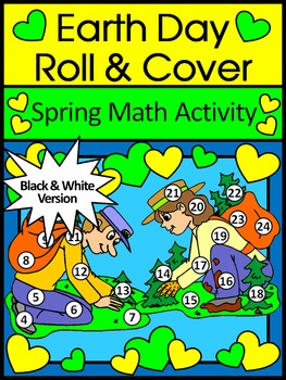 Earth Day Game Activities: Earth Day Roll & Cover Spring M