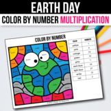 Earth Day Math Activities for 3rd 4th 5th Grade Multiplication Games