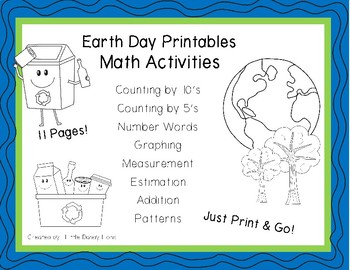 Earth Day Math Activities for Kindergarten