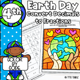 Earth Day Math Activity | Color by Code