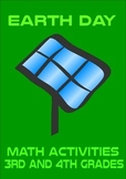 Earth Day Math Activities Book 3rd 4th