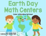 Earth Day Math Centers for First Grade