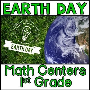 Earth Day Math Centers 1st grade