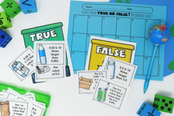 Earth Day Math Centers *Fractions*  {Common Core Aligned}