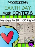 Earth Day Math Centers for Kindergarten